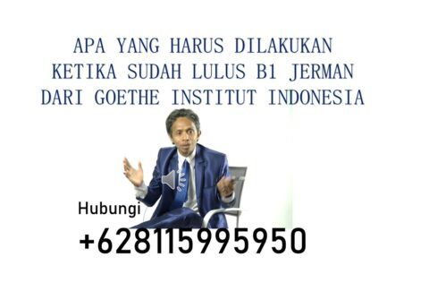 Lulus B1 Jerman Goethe Indonesia
