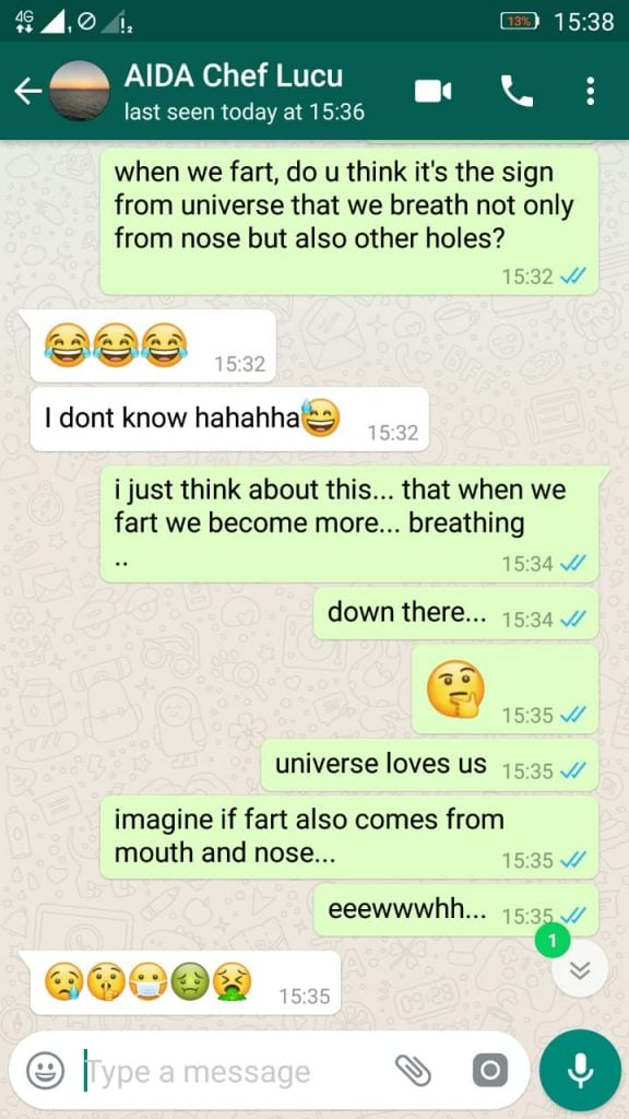 fart and breath