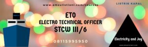ETO Electro Technical Officer STCW III/6